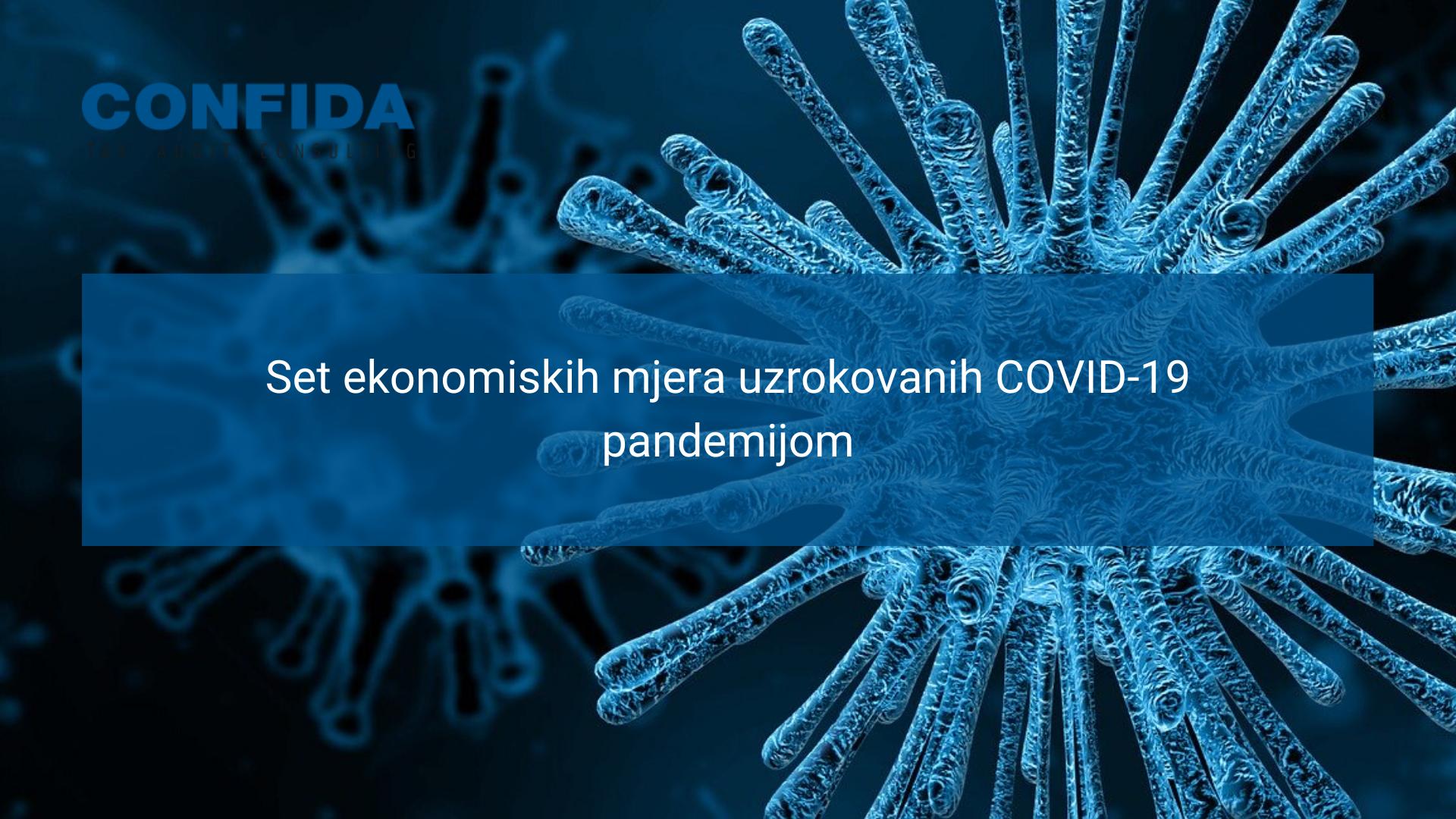 Set ekonomskih mjera uzrokovanih COVID-19 pandemijom
