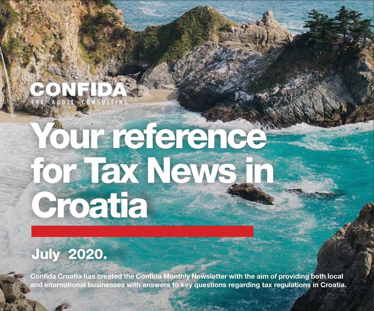 porezne vijesti srpanj 2020