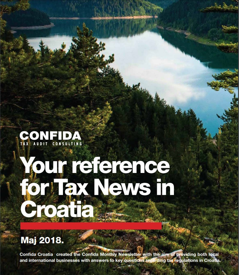 tax newsletter May 2018