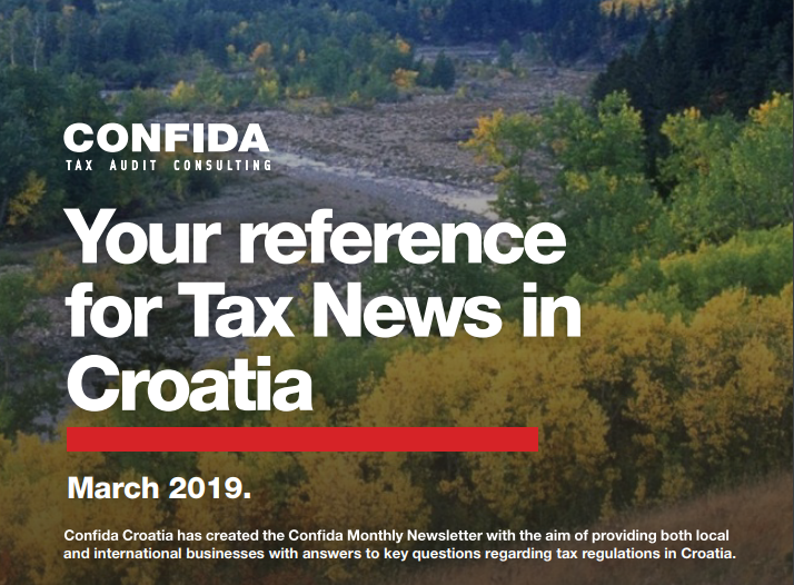 March 2019: Your reference for Tax News in Croatia