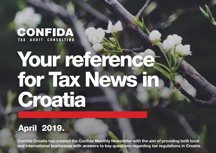 April 2019: Your reference for Tax News in Croatia