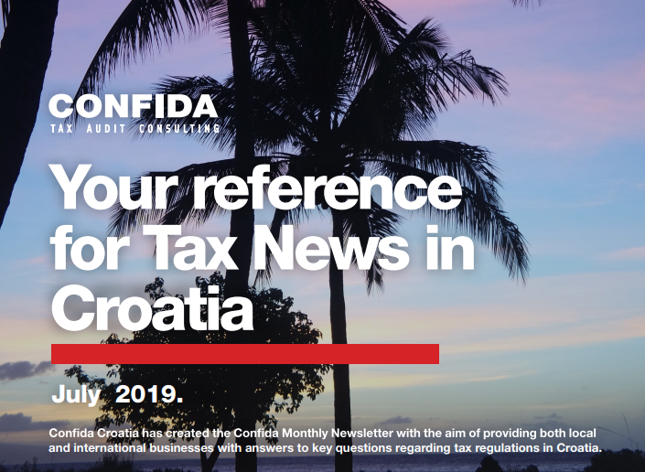 July 2019: Your reference for Tax News in Croatia