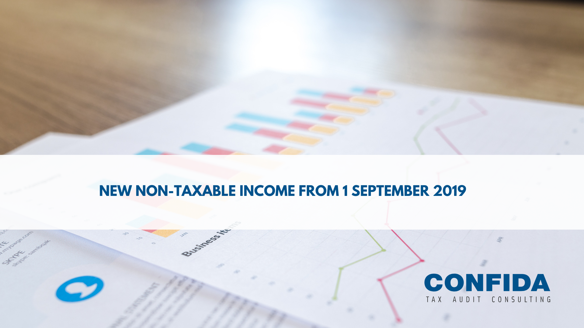 New non-taxable income from 1 September 2019