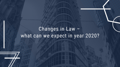 Changes in tax Law