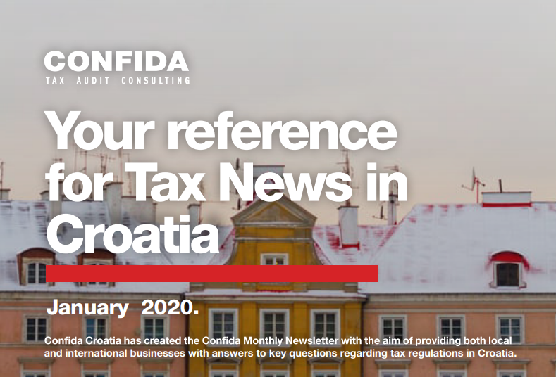 January 2020: Your reference for Tax News in Croatia
