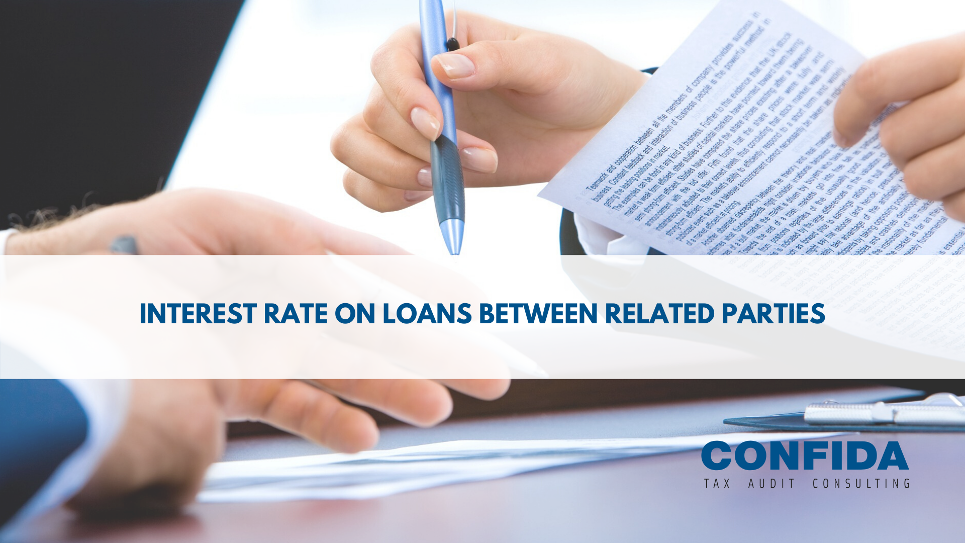 Interest rate on loans between related parties
