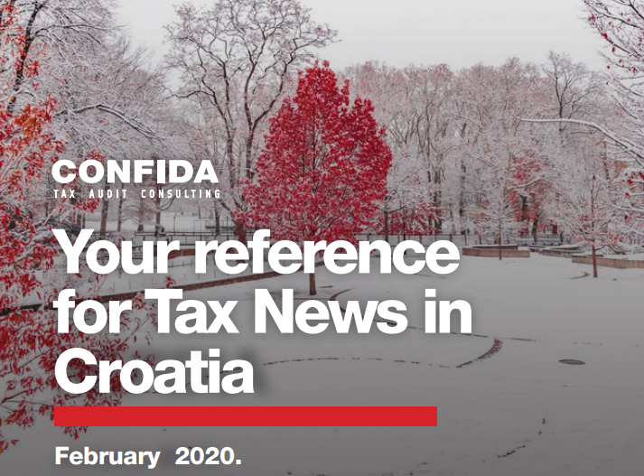 February 2020: Your reference for Tax News in Croatia