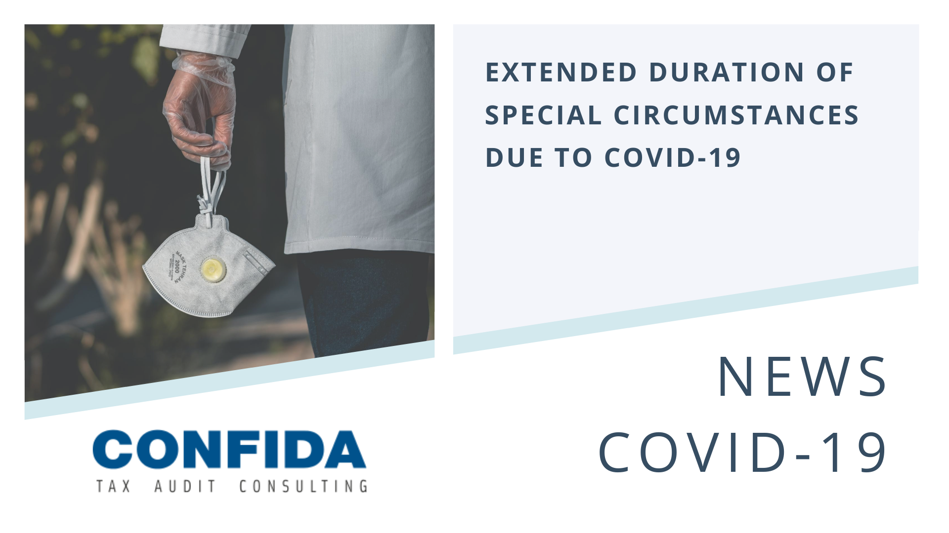 Extended Duration of Special Circumstances due to COVID-19