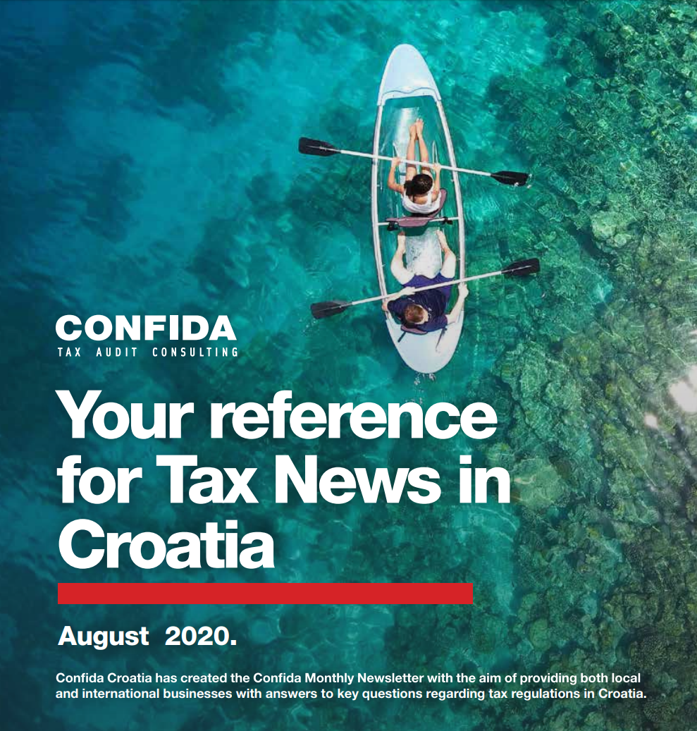 August 2020: Your reference for Tax News in Croatia