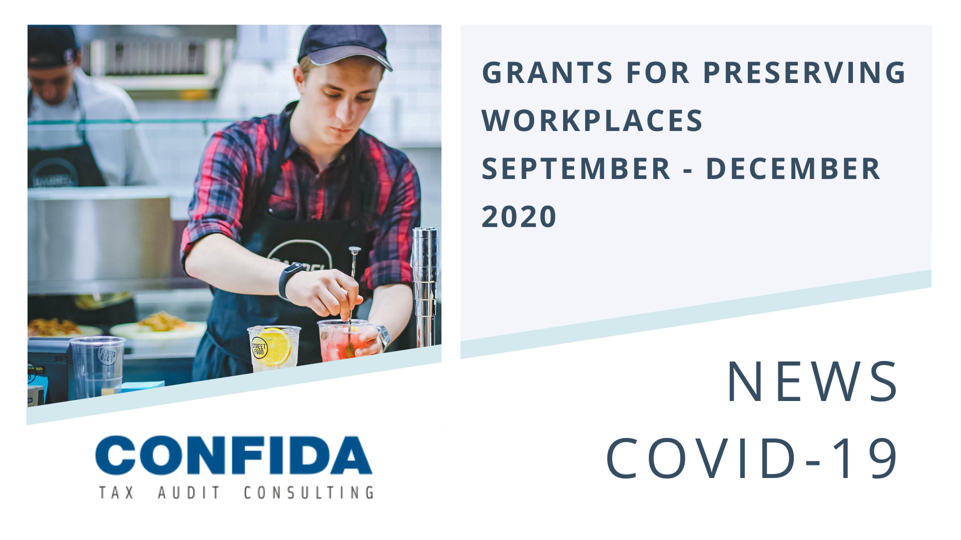Grants for preserving workplaces - September - December 202