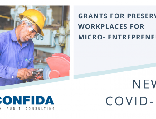 Grants for Preserving Workplaces for Micro-Entrepreneurs