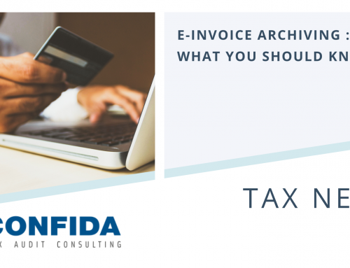 e-Invoice archiving : What You Should Know