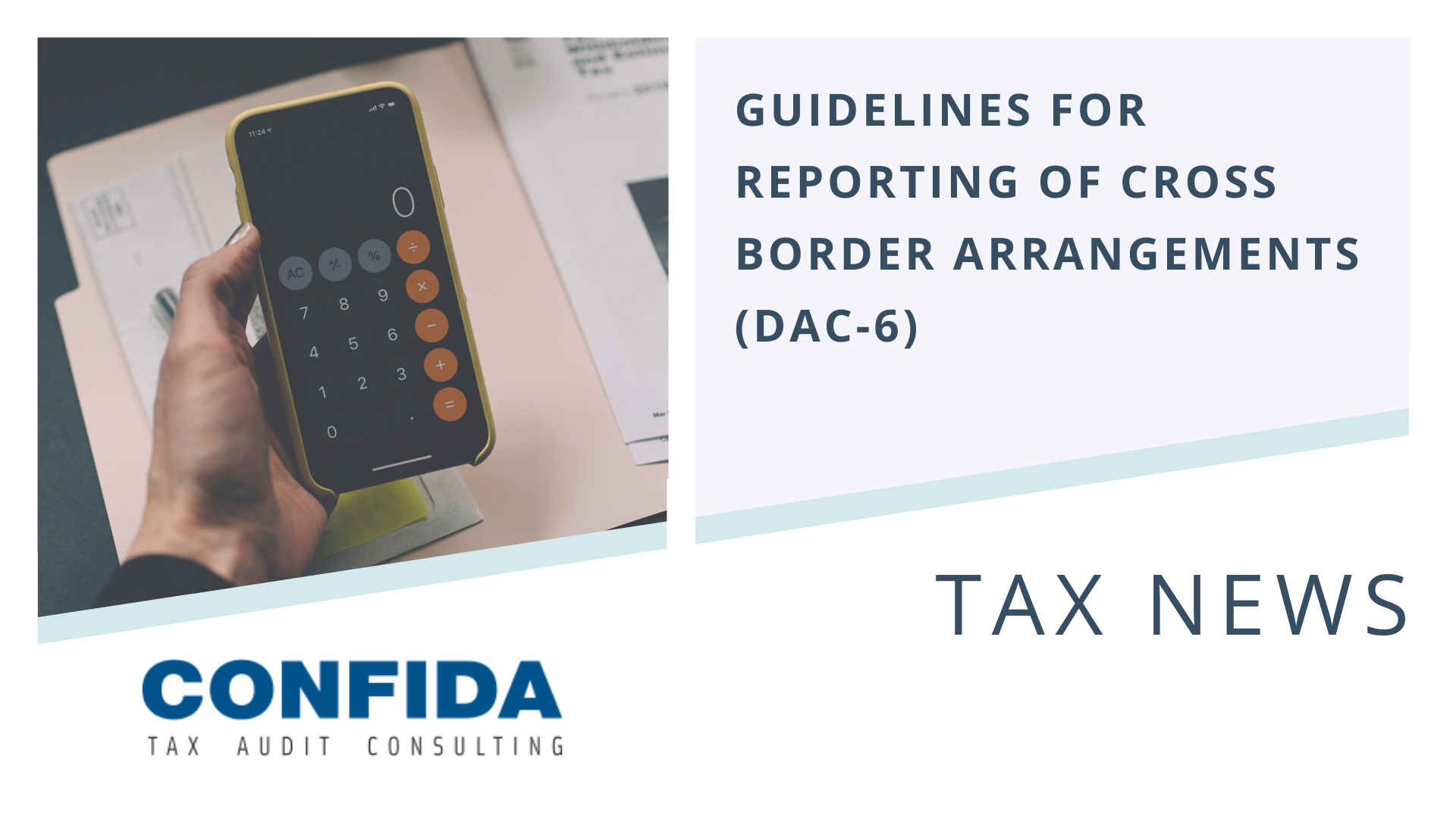 Guidelines for reporting of cross border arrangements (DAC-6)