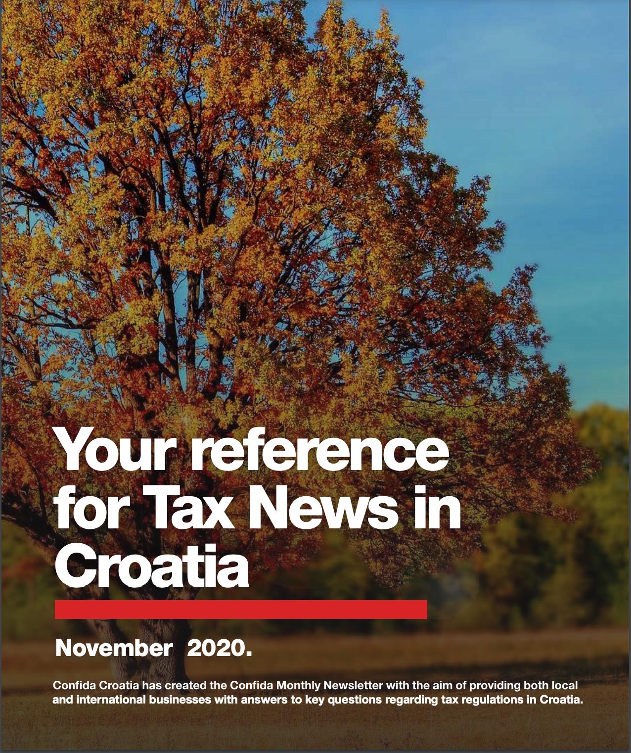 tax news november 2020
