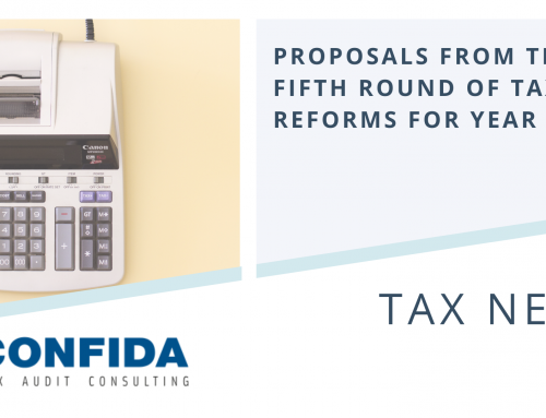 Proposals from the Fifth Round of Tax Reforms for year 2021