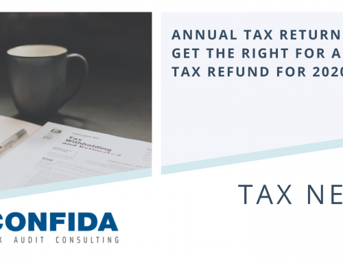 Annual Tax Return: Get the Right for a Tax Refund for 2020