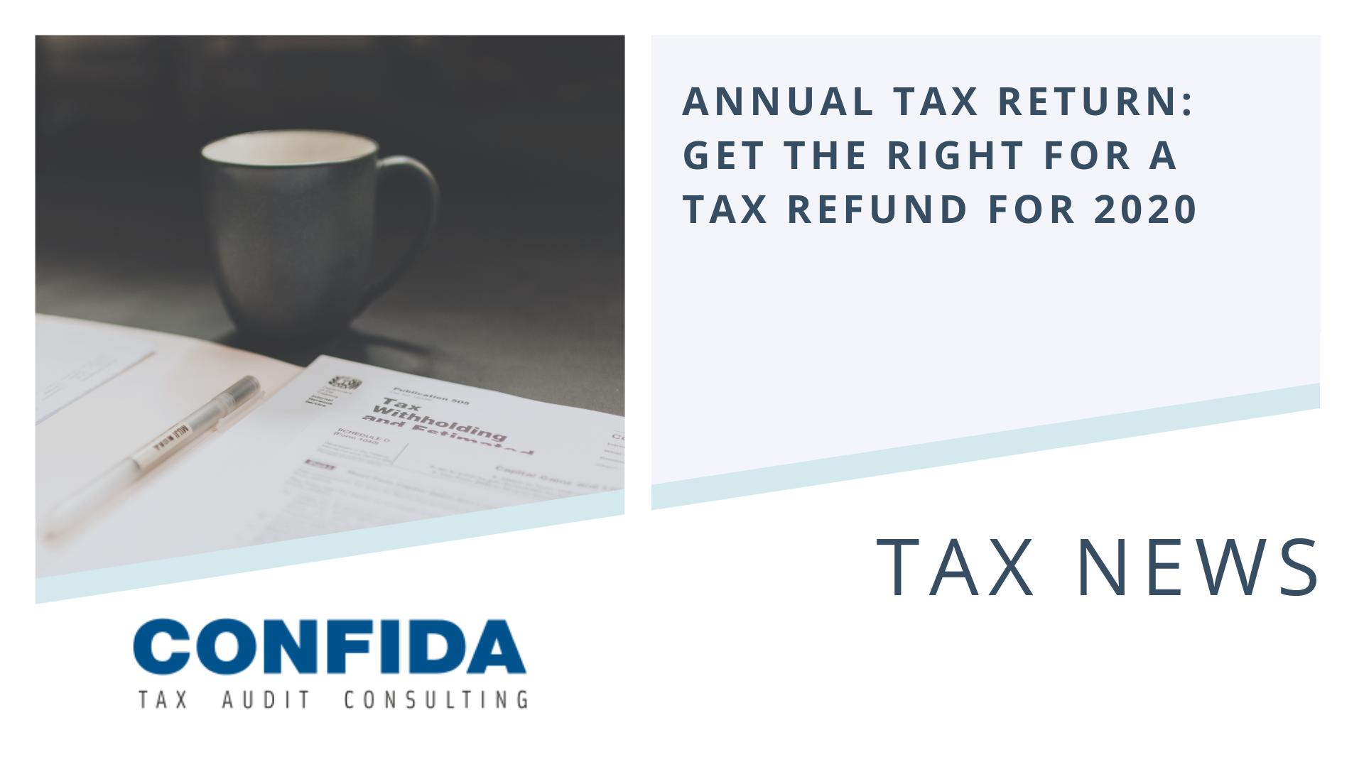 Annual Tax Return 2020