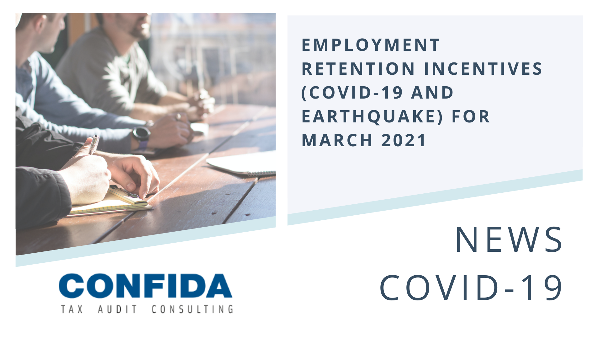 Employment Retention Incentives (COVID-19 and earthquake) for March 2021