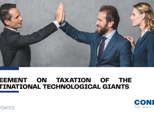 Agreement on taxation of the multinational technological giants