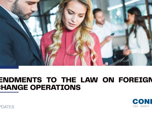 Amendments to the Law on Foreign Exchange Operations