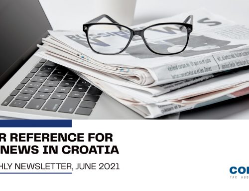 June 2021: Your reference for Tax News in Croatia