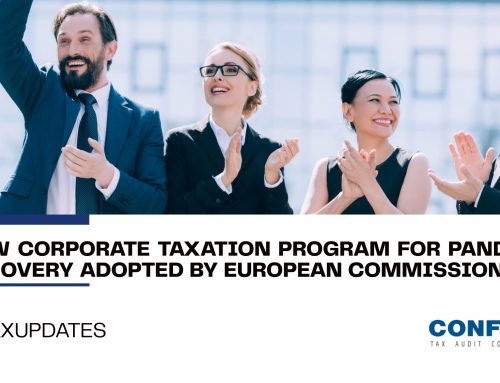 New corporate Taxation Program for pandemic recovery adopted by European Commission