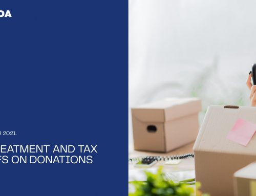 Tax treatment and Tax reliefs on Donations