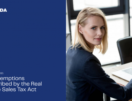 Tax exemptions prescribed by the Real Estate Sales Tax Act